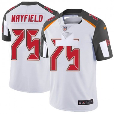 Men's Nike Tampa Bay Buccaneers Riley Mayfield Vapor Untouchable Jersey - White Limited