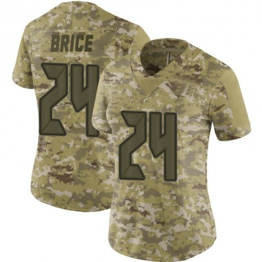 Women's Nike Tampa Bay Buccaneers Kentrell Brice 2018 Salute to Service Jersey - Camo Limited