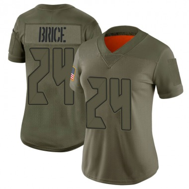 Women's Nike Tampa Bay Buccaneers Kentrell Brice 2019 Salute to Service Jersey - Camo Limited