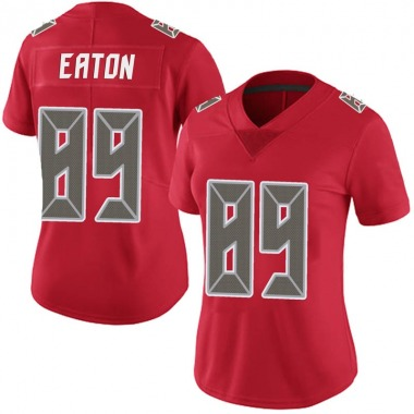 Women's Nike Tampa Bay Buccaneers Matthew Eaton Team Color Vapor Untouchable Jersey - Red Limited