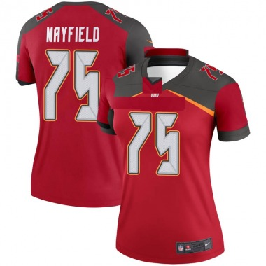 Women's Nike Tampa Bay Buccaneers Riley Mayfield Jersey - Red Legend