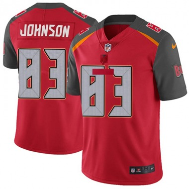 Youth Nike Tampa Bay Buccaneers Anthony Johnson Team Color Vapor Untouchable Jersey - Red Limited
