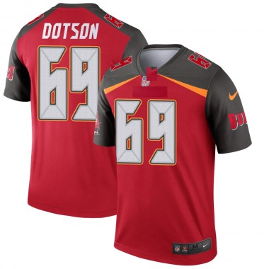 Youth Nike Tampa Bay Buccaneers Demar Dotson Jersey - Red Legend