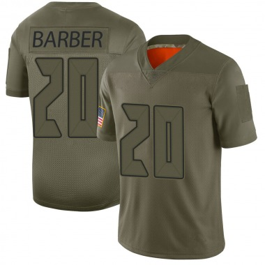 Youth Nike Tampa Bay Buccaneers Ronde Barber 2019 Salute to Service Jersey - Camo Limited