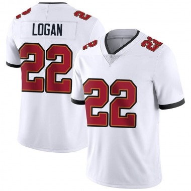 Youth Nike Tampa Bay Buccaneers T.J. Logan Vapor Untouchable Jersey - White Limited